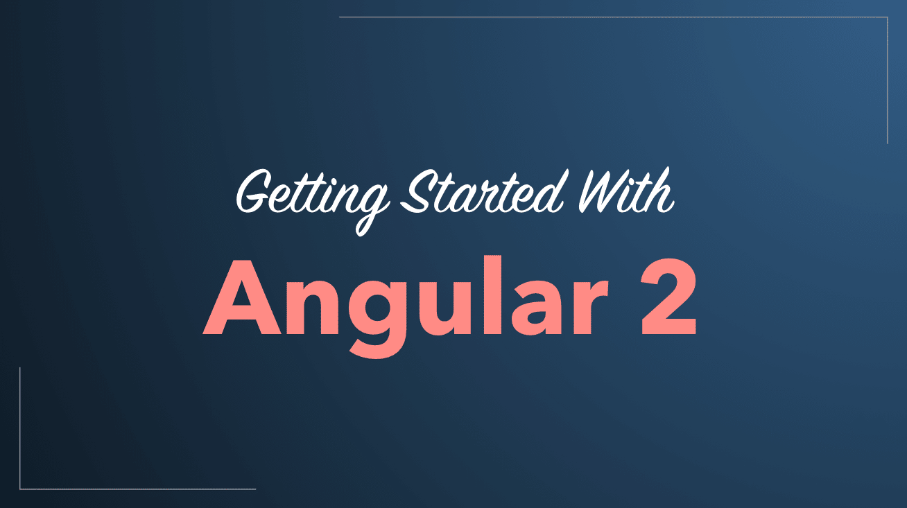 Angular 2 Quickstart Tutorial 2016