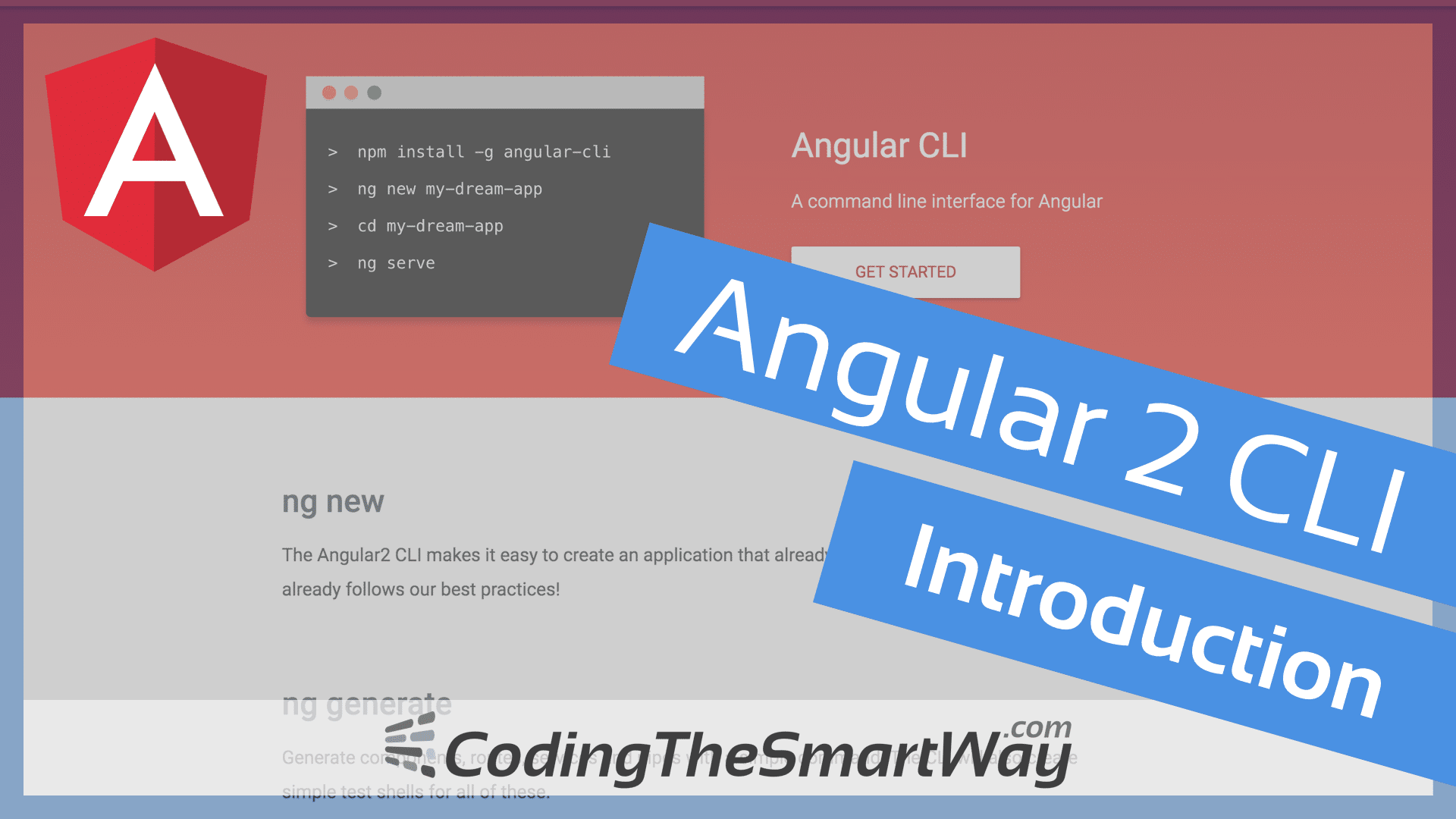 Angular 2 CLI (Command Line Interface) - Introduction