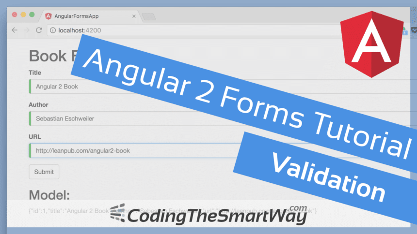 Angular 2 Forms Tutorial – Validation