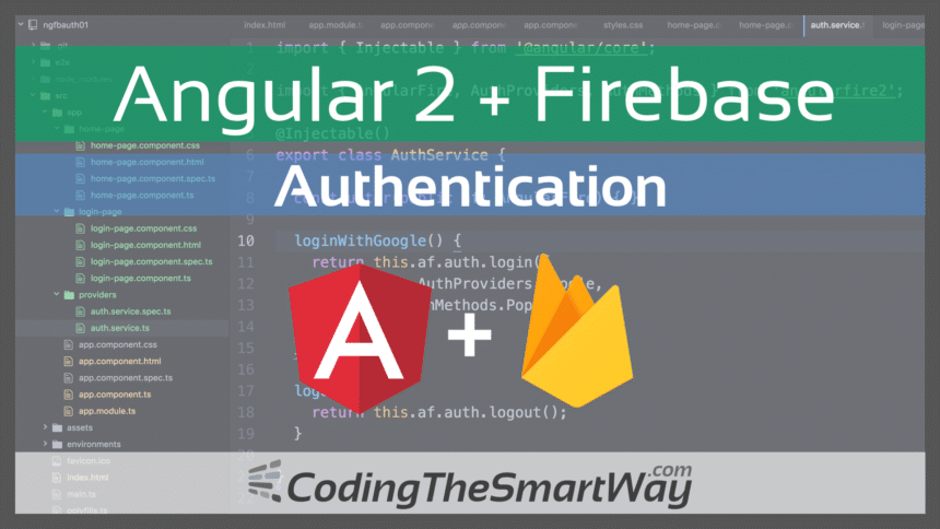 Angular 2 Firebase Authentication