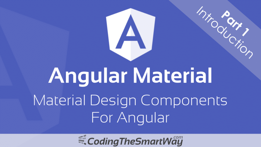 Angular Material – Introduction