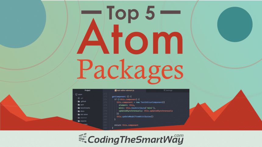 Top 5 Atom Code Editor Packages