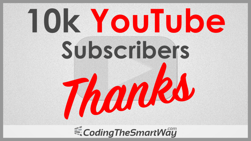 10000 Subscribers – Thanks!