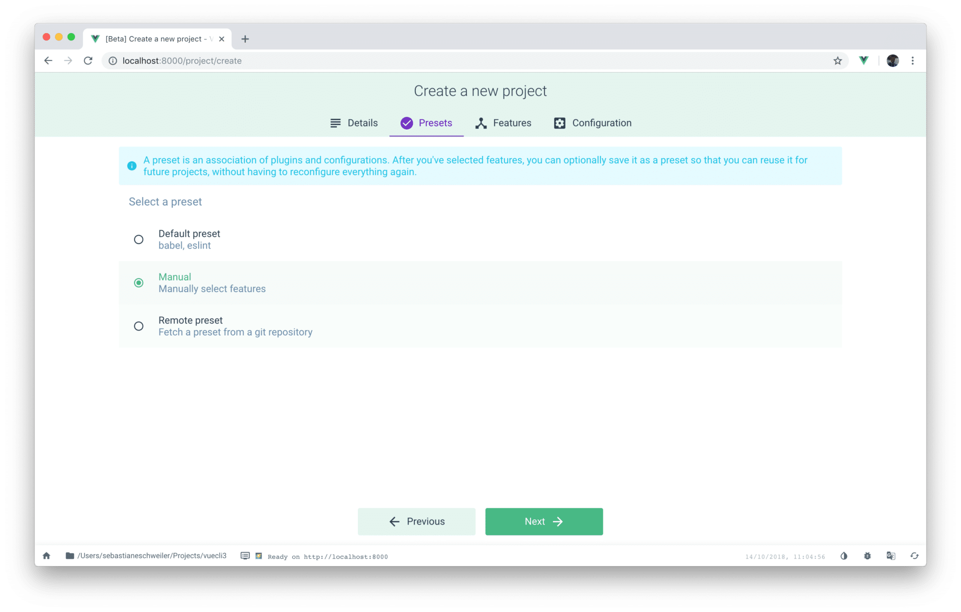 Getting Started With Vue CLI 3 - CodingTheSmartWay com