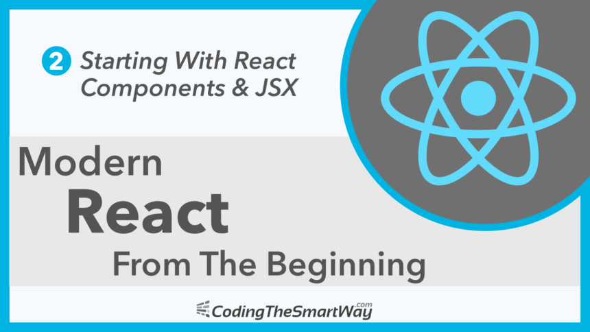 Modern React From The Beginning EP2: Starting With React Components & JSX