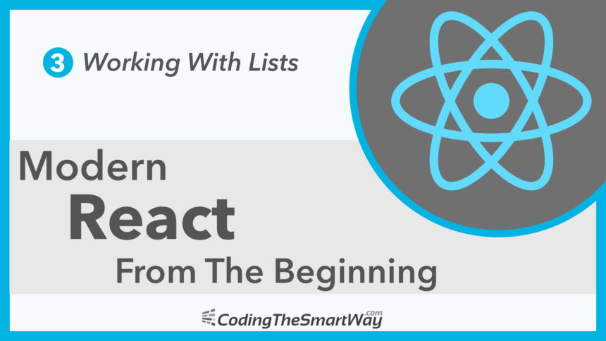 Modern React From The Beginning EP3: Working With Lists
